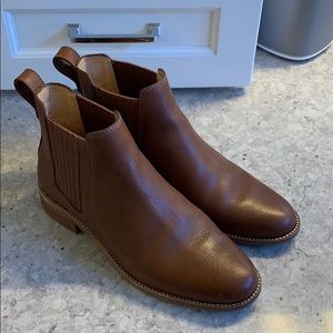 Madewell leather Chelsea boots